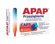 APAP Przeziębienie Caps x 8 kapsułek