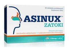 ASINUX Zatoki x 30 tabletek - data ważności 11-11-2016r.