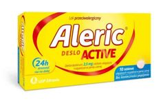 Aleric Deslo Active 2,5mg x 10 tabletek