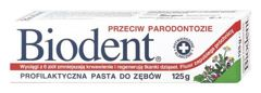 BIODENT Pasta do zębów przeciw paradontozie 125g