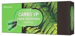 Carbo VP węgiel aktywowany (Carbo Medicinalis) 0,2 x 20 kapsułek