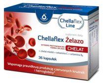 Chellaflex Żelazo x 36 kapsułek