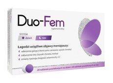 Duo-FeM x 28 tabletek na dzień + 28 tabletek na noc