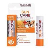 FLOSLEK SUN CARE Pomadka ochronna do ust z filtrem UV SPF14