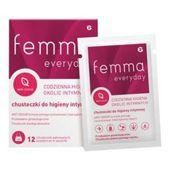 Femma Everyday chusteczki do higieny intymnej x 12 sztuk