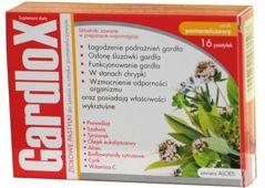 GARDLOX x 16 tabletek do ssania smak pomarańczowy