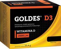 Goldes D3 2000 j.m x 60 tabletek