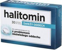 Halitomin x 30 tabletek do ssania