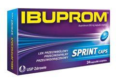 IBUPROM Sprint Caps x 24 kapsułki