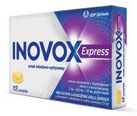 Inovox Express smak miodowo-cytrynowy x 12 pastylek do ssania