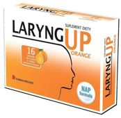 LARYNG UP Orange x 16 tabletek do ssania