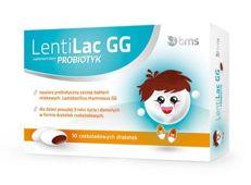 LENTILAC GG x 10 drażetek czekoladowych