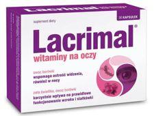 Lacrimal Witaminy na oczy x 30 kapsułek