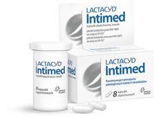 Lactacyd Intimed x 8 kapsułek dopochwowych