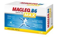 MAGLEQ B6 MAX x 50 tabletek - data ważności 31-01-2017r.