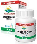 MELATONINA 5mg x 30 tabletek