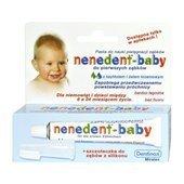 NENEDENT-BABY pasta 20ml + szczoteczka silikonowa dla dzieci 1op.