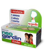 NEOGARDIN KINDER x 10 pastylek do ssania