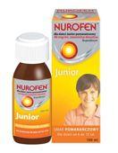 NUROFEN dla dzieci Junior 40mg/ml pomarańczowy 100ml