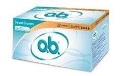 OB SUPER x 32 tampony
