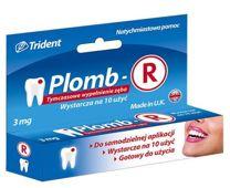 PLOMB-R tymczasowe wypełnienie zęba 3g