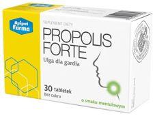 PROPOLIS FORTE x 30 tabletek o smaku mentolowym
