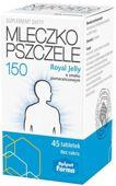 ROYAL JELLY Mleczko pszczele liofilizowane 150mg x 45 tabletek