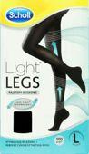 SCHOLL LIGHT LEGS Rajstopy uciskowe 60DEN rozmiar L czarne x 1 sztuka