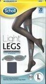 SCHOLL Light Legs Rajstopy uciskowe 20 DEN rozmiar L czarne x 1 sztuka