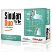SINULAN DUO FORTE x 30 tabletek - data ważności 31-10-2016r.