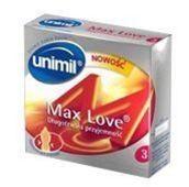 UNIMIL Maxlove prezerwatywy x 3szt.