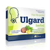 Ulgard Herbal o smaku ziołowo-cytrynowym x 16 pastylek do ssania
