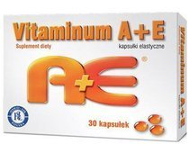VITAMINUM A+E (2500+0,1) x 30 kapsułek
