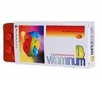 VITAMINUM B Compositum x 50 tabletek drażowanych