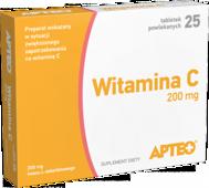 WITAMINA C 200mg Apteo x 50 tabletek
