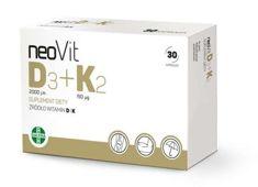 neoVit D3+K2 x 30 kapsułek