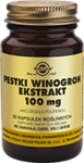 SOLGAR Pestki z winogron ekstrakt 100mg x 30 kapsułek