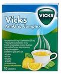 VICKS SymptoMed Complete smak cytrynowy proszek x 10 saszetek