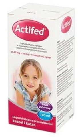 ACTIFED syrop 100ml
