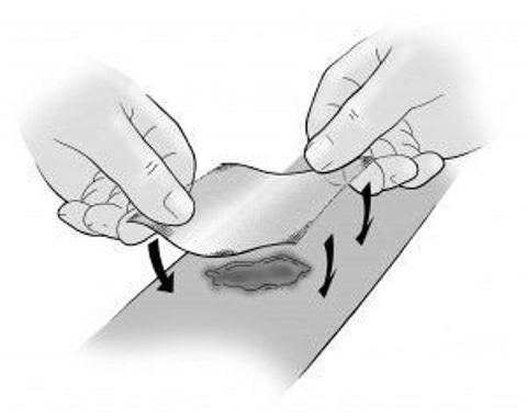 ACTILITE Opatrunek z miodem manuka 10cm x 20cm x 1szt.