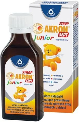 AKRON SEPT JUNIOR syrop 100ml
