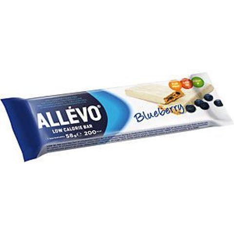 ALLEVO Baton z jagodami 58g