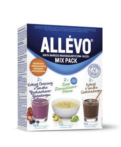 ALLEVO MIX Pack 190g (4 x Koktajl + 2 x zupa)