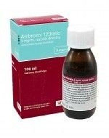 AMBROXOL 123 RATIO 3mg/ml syrop 100ml