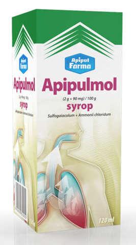 APIPULMOL syrop 120ml