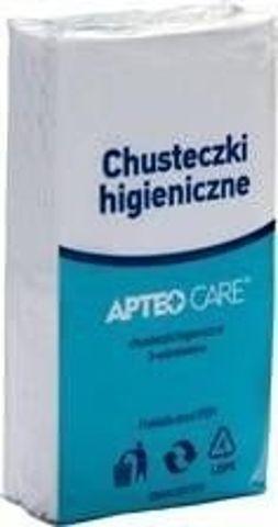 APTEO CARE Chusteczki higieniczne 10 sztuk x 10 opakowań