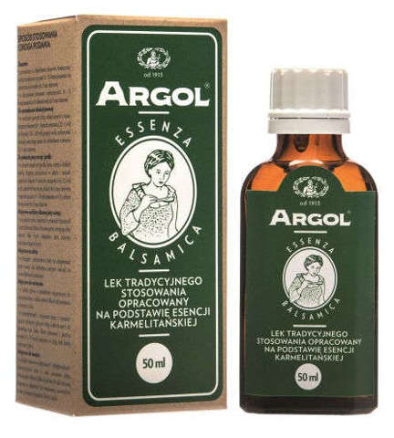 ARGOL ESSENZA BALSAMICA krople 50ml