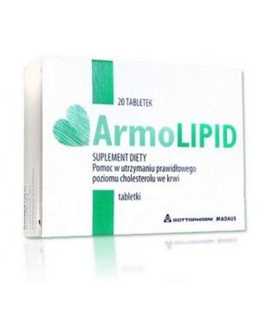 ARMOLIPID x 20 tabletek