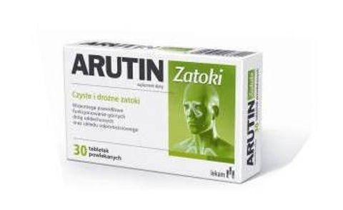 ARUTIN ZATOKI x 30 tabletek