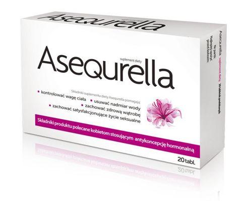 ASEQURELLA x 20 tabletek
